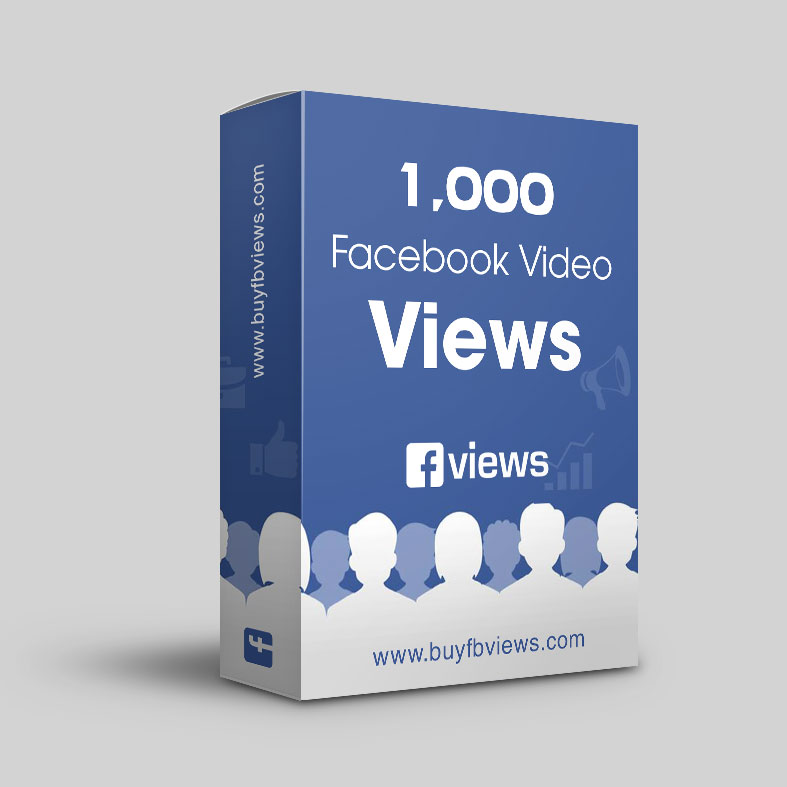 Buy 1K facebook video views. Delivery – Instant to 1 hour