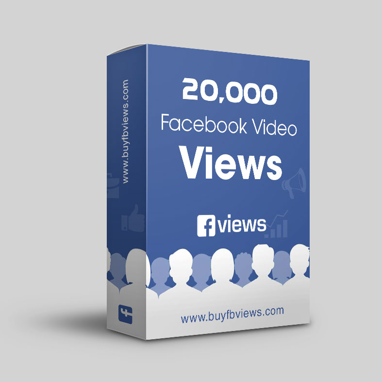 Buy 20K facebook video views